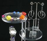 [وهولسلس] يخلون بلاستيك شفّاف أكريليكيّ ساعة حل حل عقد مجوهرات سوار حلية عرض