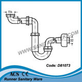 Trappe de lavabo en plastique / bidet (D81073)