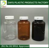 300ml Bouteille PET de la médecine en plastique transparent