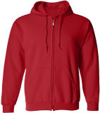 Mens personnalisé Big & Tall Fleece Full-Zip Casual Sweat-shirt à capuche