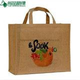 Grand sac de jute d'emballage d'achats de Delux (TP-SP530)