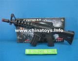 Bo pistolet jouet en plastique avec lampe de poche&Infrare (027811)