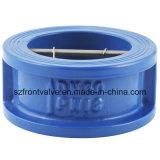 Чугун/дуктильный задерживающий клапан вафли плиты дуа утюга