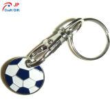 Fútbol personalizados Llavero de aleación de zinc forma
