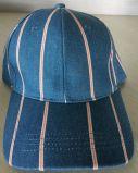 Крышка спорта бейсбола ткани Corduroy с вышивкой