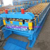 Automatische Farbe beschichtete Panel-Rolle des Metallr, die Maschine herstellend sich bildet