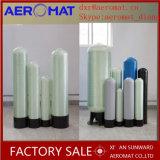 Do tratamento da água azul da cor da fibra de vidro tanque plástico do filtro de Reinfoced