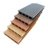 140*17mm piscina WPC Flooring deck composto de plástico de madeira