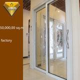Раздвижная дверь 2 панелей алюминиевая для комнаты кухни