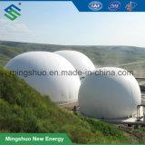 Une pression constante à double membrane Support de stockage de biogaz