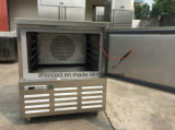 アイスクリームのための10pans送風フリーザー、レストランの送風スリラーのフリーザー