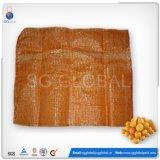 Großhandelsineinander greifen-Beutel des Linon-25kg für Verpackungs-Zwiebel und Kartoffel