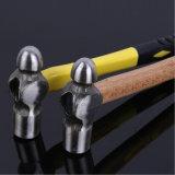 Слесарный молоток с шаровым и фасонным бойком молотка шарика с ручкой Wood&Fiber