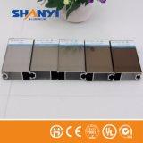 Champagne Puerta y ventana Perfil de extrusión de aluminio/ Extruted perfil de aluminio