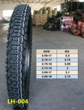 Emark Zustimmungs-Naturkautschuk-Motorrad-Reifen (3.00-17)