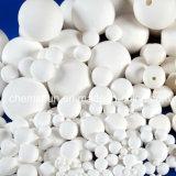 Bola de cerámica del alúmina del 90% como el portador de catalizador y embalaje del producto químico