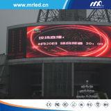 O indicador de diodo emissor de luz ao ar livre da cor cheia do passo de 2016 P10mm assina a venda