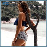 대중적인 2개 피스 비키니 수영복은 OEM를 받아들인다