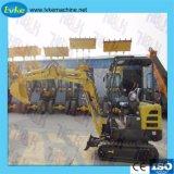 Trator de Esteiras barato coveiro/Mini Coveiro /360 Escavadeira Rotativo