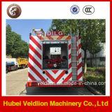 HOWO 6000L/6000L/6cbm/6m3 Petroleiro de água caminhão de incêndio