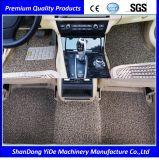 Matten van de Vloer van de Auto van de Rol van pvc van de Toebehoren van de auto de Dubbele Kleur Bespoten