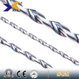 taladros de carburo de tungsteno sólidos del diámetro de 1-20m m para la aleación de aluminio del taladro