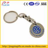 Großhandelssupermarkt-Metalllaufkatze-Zeichen Keychains