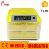 Hhd 높은 부화 비율 자동적인 가금은 Egg 부화기 (EW-96)를