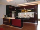 Module de cuisine modulaire moderne, Module de cuisine de PVC