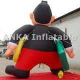Design personalizado gigante Desenhos animados de personagem infláveis
