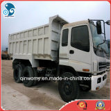 필리핀을%s 360HP/10cylinders Munal-Contral 6*4 화물 Delivery Used Isuzu Dump Truck