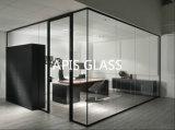 Het aangemaakte Glas van de Bouw is op het Venster van de Zaal van de Zon van de Vangrail van toepassing