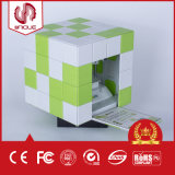 Материал нити PLA пользы принтера 3D кубика миниый для домочадца
