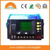 Pantalla LCD de 48V 10A Controlador solar para el Sistema Solar