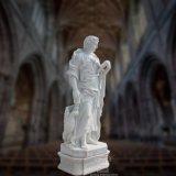 Fromme Statue-Marmorierungskulptur