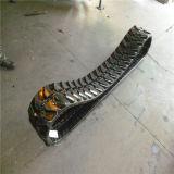 oruga de caucho (B250*72*34) de una cargadora compacta