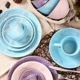 Insiemi di pranzo di ceramica della Cina di nuovi prezzi poco costosi all'ingrosso di disegno