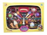 Los juguetes maravillosos del juego del helado para los cabritos