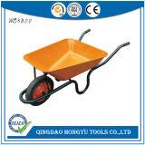Venda a quente de aço resistente Wb3807 Roda Jardim Barrow