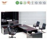 옆 테이블 또는 실무자 멜라민 사무실 책상을%s 가진 L-Shaped 멜라민 사무실 책상