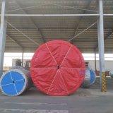 Большая емкость прямой ленты конвейера резиновый ремень