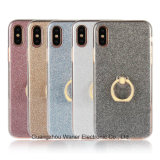 Caja de destello del teléfono de Hoder del anillo del brillo para Ipone, Samung, Huawei
