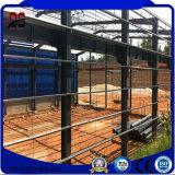 Berühmter heller Prefabricaton Stahlaufbau strukturiert Lager