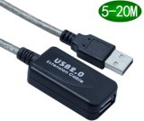 Super vitesse USB 2.0 Câble d'extension active