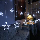 نجم [لد] عيد ميلاد المسيح ستار ضوء لأنّ [ودّينغ برتي] يسكن أطر غرفة نوم