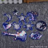 Custom Design de mode Moon 3D Patch Perles en cristal Motif applique pour les vêtements