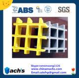 Superficie cóncava rejilla de plástico reforzado con fibra ABS pasaron la evaluación de Diseño y evaluación de fabricación
