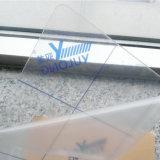 0.177 '' سماكة شفّافة بلاستيكيّة صف لأنّ إشارة لوح