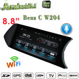 Lettore DVD anabbagliante per il contenitore di automobile TV di C W204, OBD, percorso del Android 5.1 di Carplay di sostegno di GPS del collegamento di WiFi della LIMANDA