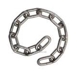 Il pezzo fucinato ha forgiato la catena Chain nera di attracco di collegamento Chain dell'ancoraggio